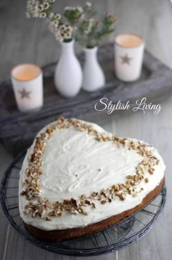 carrot cake / Karottenkuchen