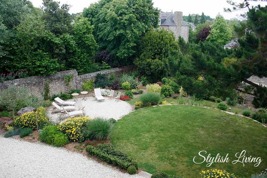 Garten Villa Christilla