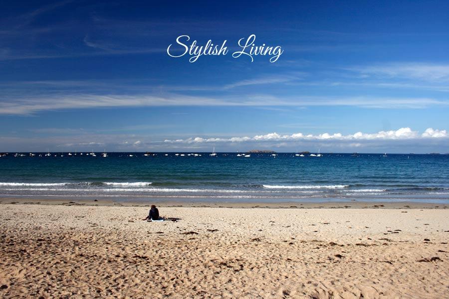 Strand von Saint-Lunaire