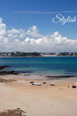 Saint-Malo mit Blick auf Dinar