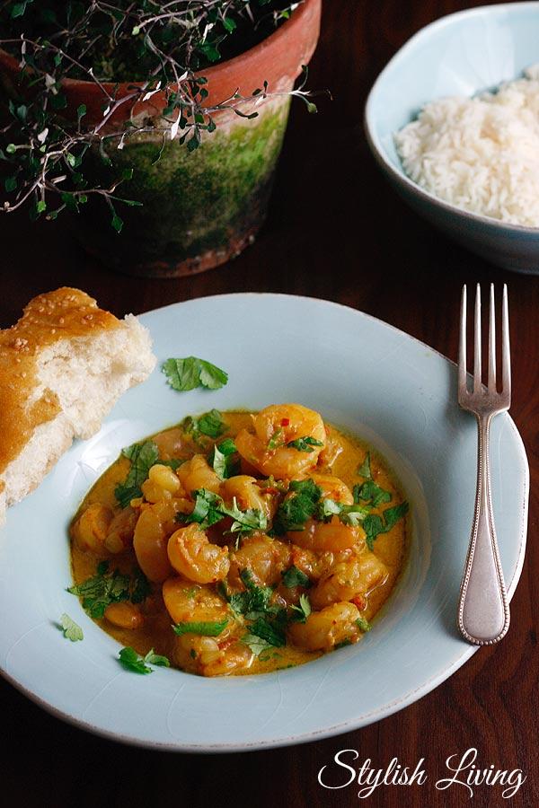 Punjab Garnelen Curry