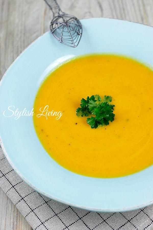Ingwer-Karottensuppe