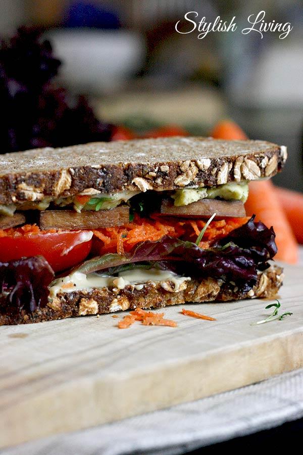 Sandwich mit Tofu
