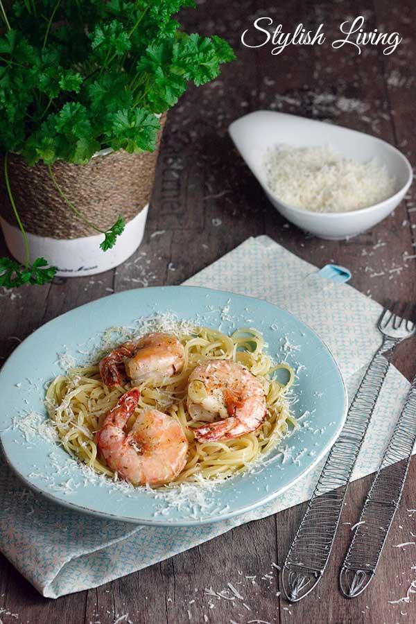 Spaghetti Scampi
