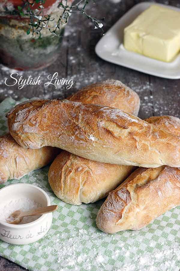knuspriges Baguette