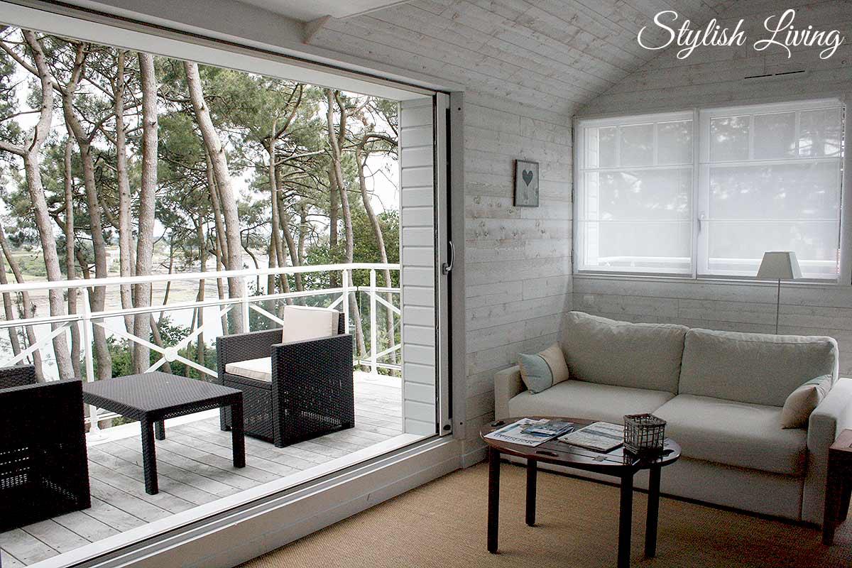 Wohnzimmer + Balkon Schlafzimmer La Villa bel Ange