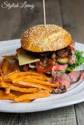 leckerster Burger von Welt