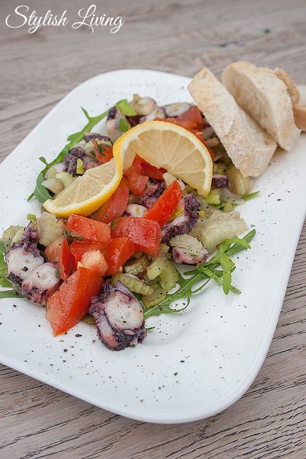 Polpo Salat Capolino Scharbeutz