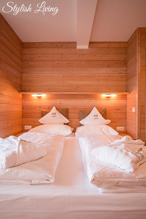 Schlafzimmer Rosalpina