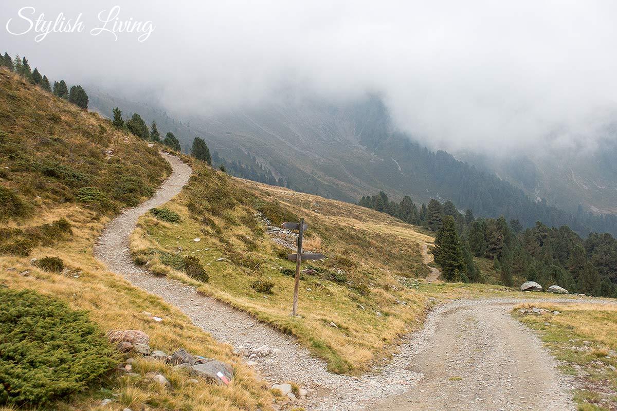 Brixner Höhenweg bei der Ochsenalm