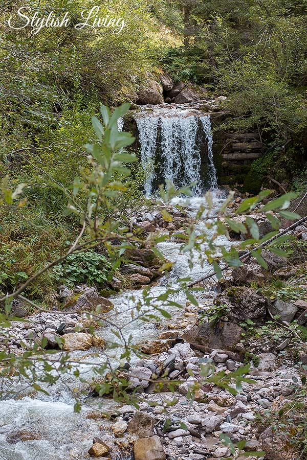 Wasserfall in den Geislern