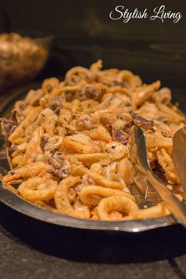 frittierte Meeresfrüchte im Moosmair
