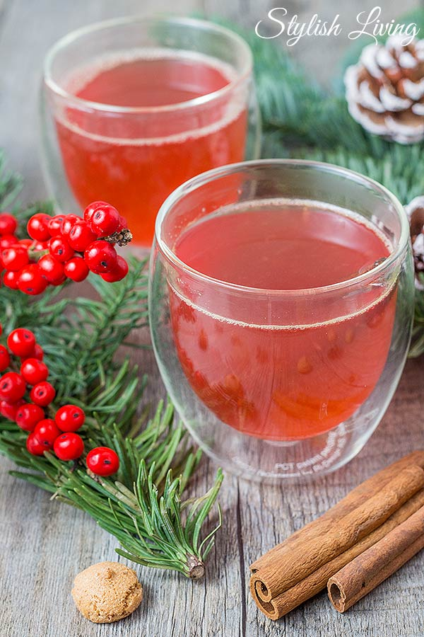 oberleckerer Winterpunsch mit Rotkäppchen Fruchtsecco