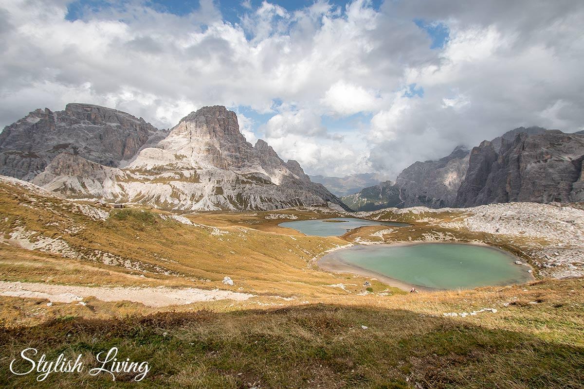 Bergseen bei der Dreizinnenhütte