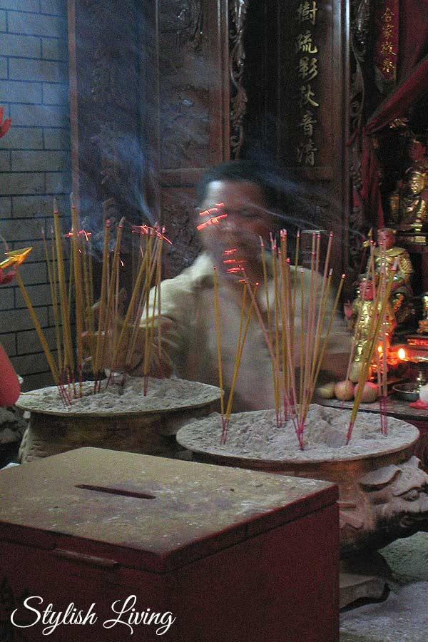 Chinesische Räucherstäbchen
