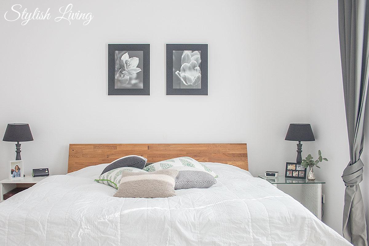 modernes Schlafzimmer mit Gemütlichkeit