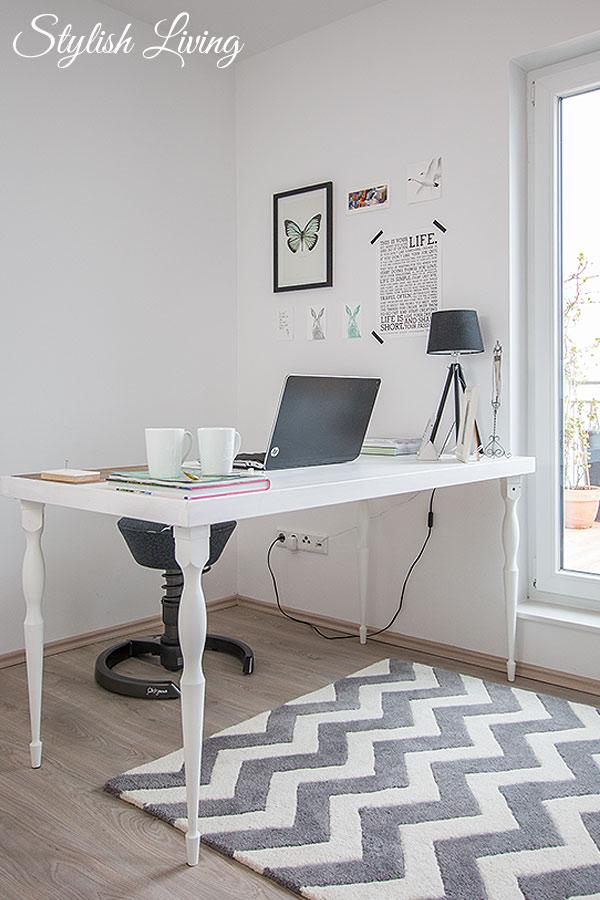 modernes Büro in weiß