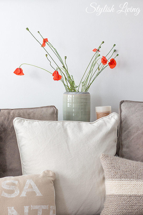 Mohnblumen in der Vase