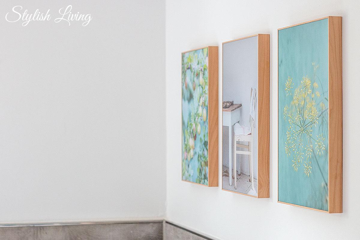 Acrylglasbilder im Holzrahmen von posterXXL Badezimmer