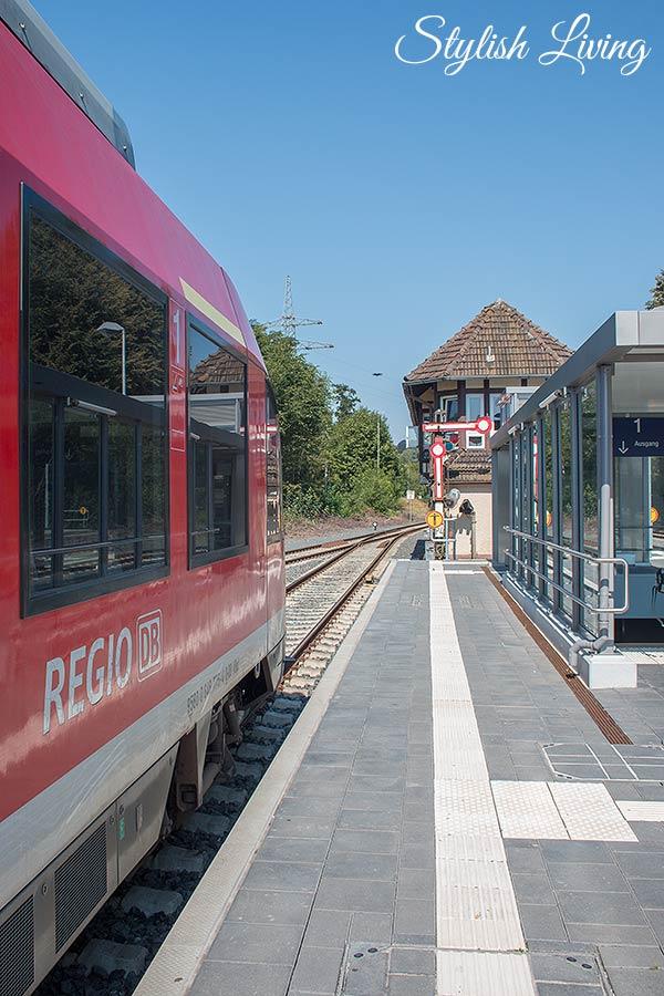 DB Harz-Weser - Bahnhof Herzberg