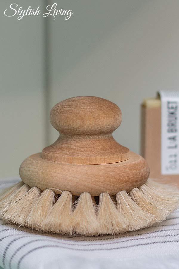 Badebürste von brands iris hantverk aus dem Shop Petite Catrin