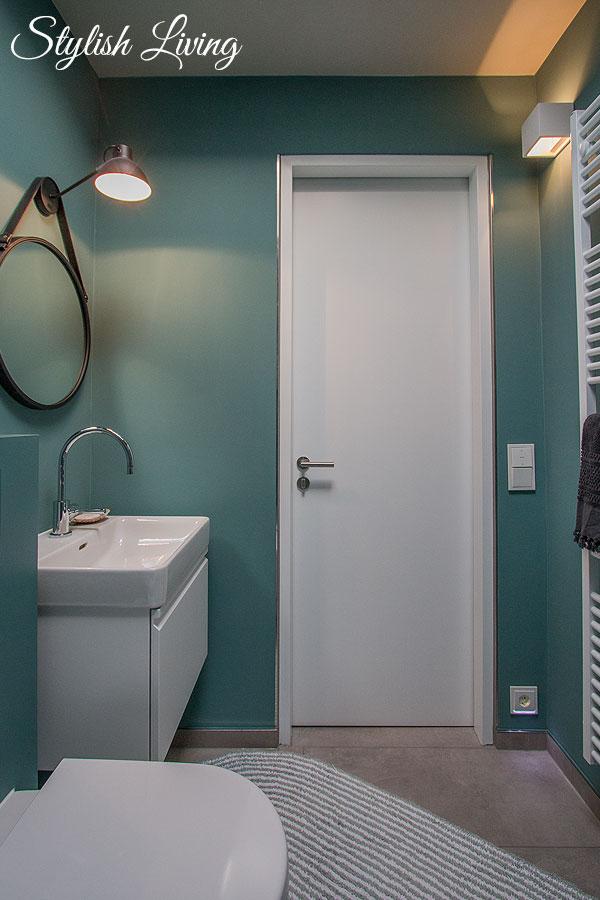 Badezimmerbeleuchtung mit click-licht