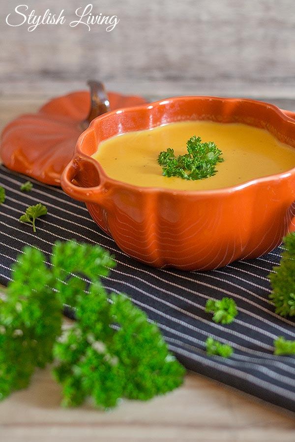 Oberleckere Butternut-Cremesuppe
