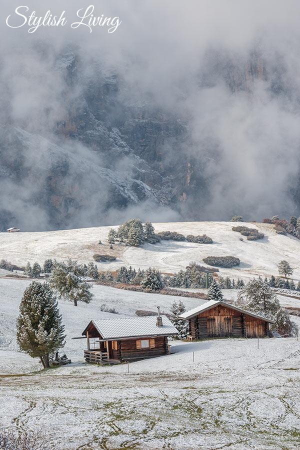Winterlandschaft Seiser Alm