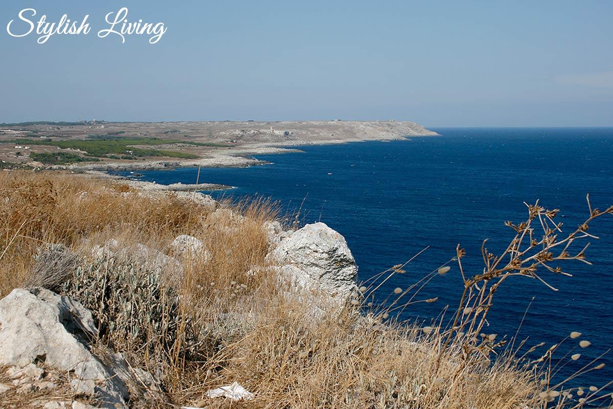 Apuliens Küste zwischen Otranto und Gagliano del Capo