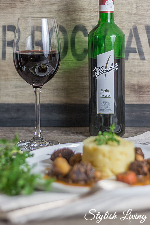 Boeuf Bourguignon mit Blanchet nach Julia Child