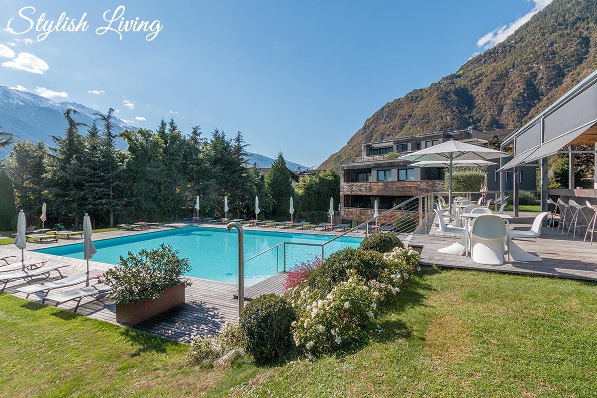 Poolbereich Design Hotel Tyrol