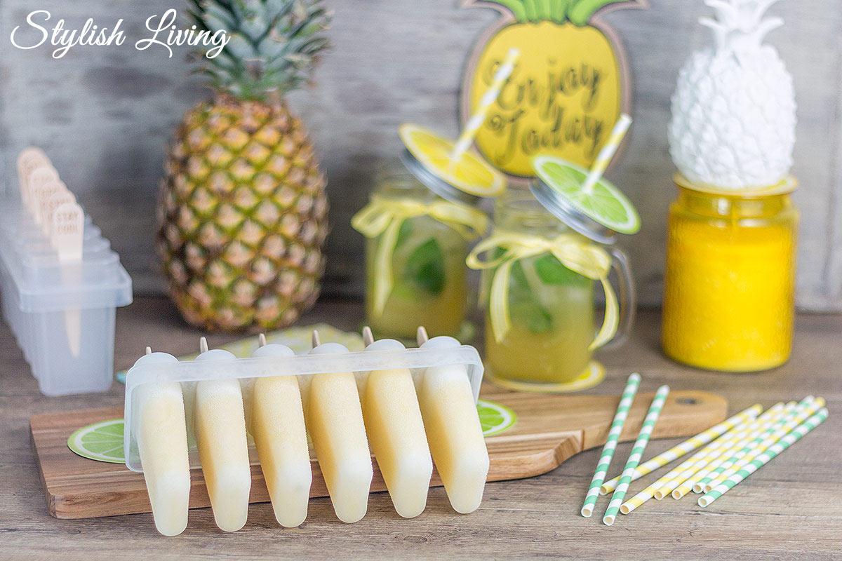 erfrischende Ananas Rezepte für den Sommer