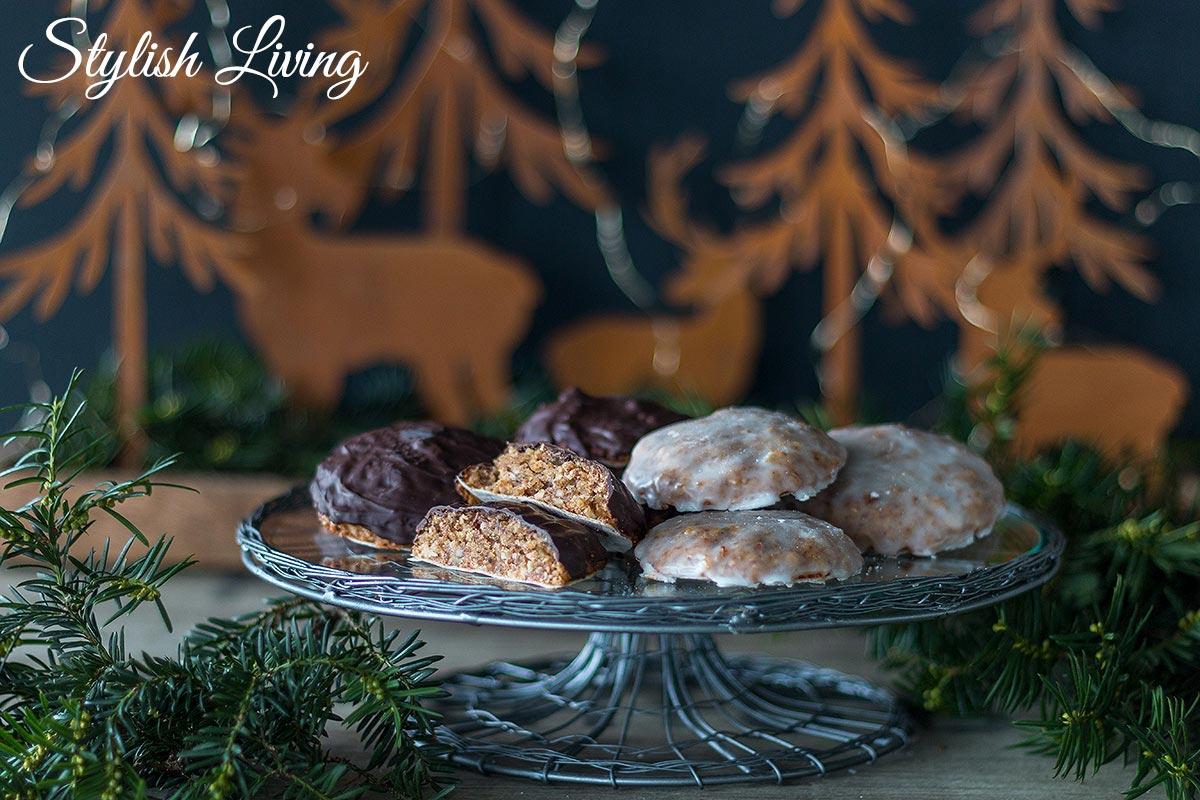 selbst gemachte Nürnberger Elisenlebkuchen