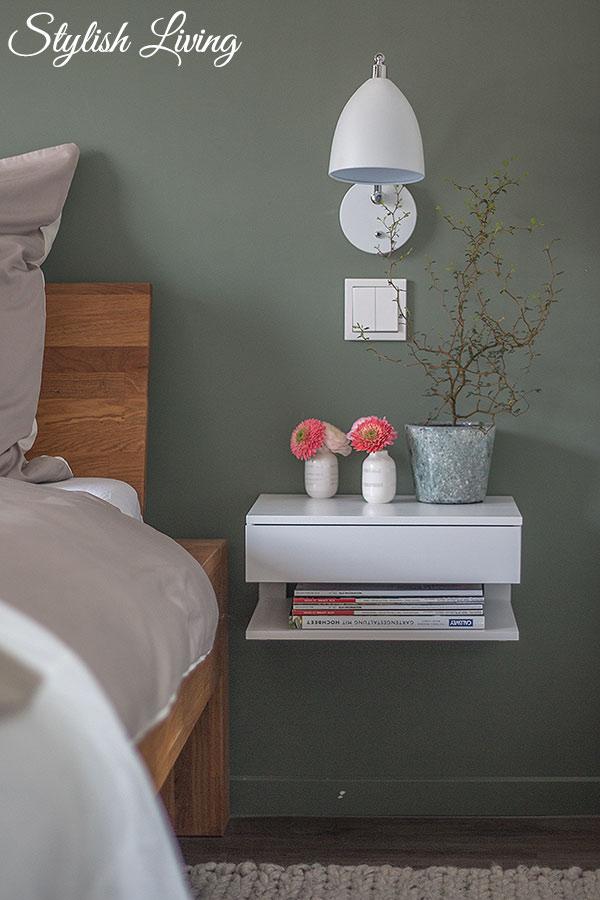 OTTO Schlafzimmer Makeover mit Hänge-Nachtschrank