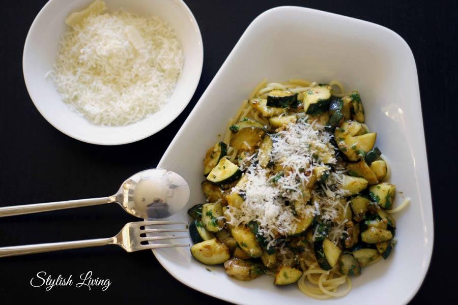 Spaghetti Zucchini e Limone