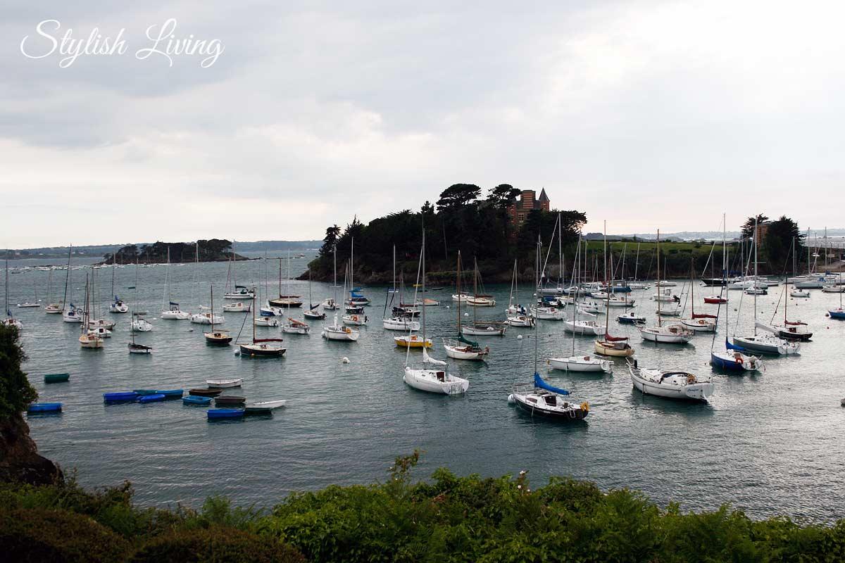 Hafen von Saint-Briac-sur-mer