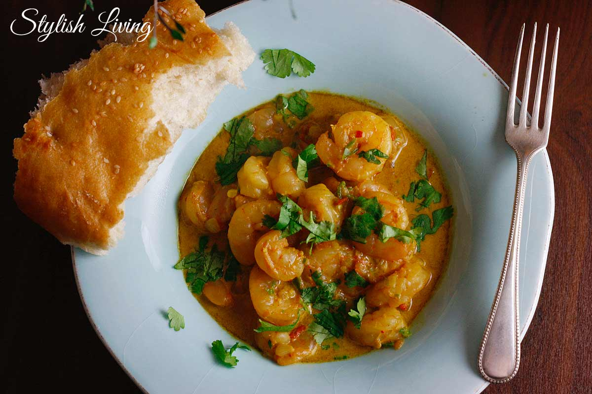 Garnelen Curry