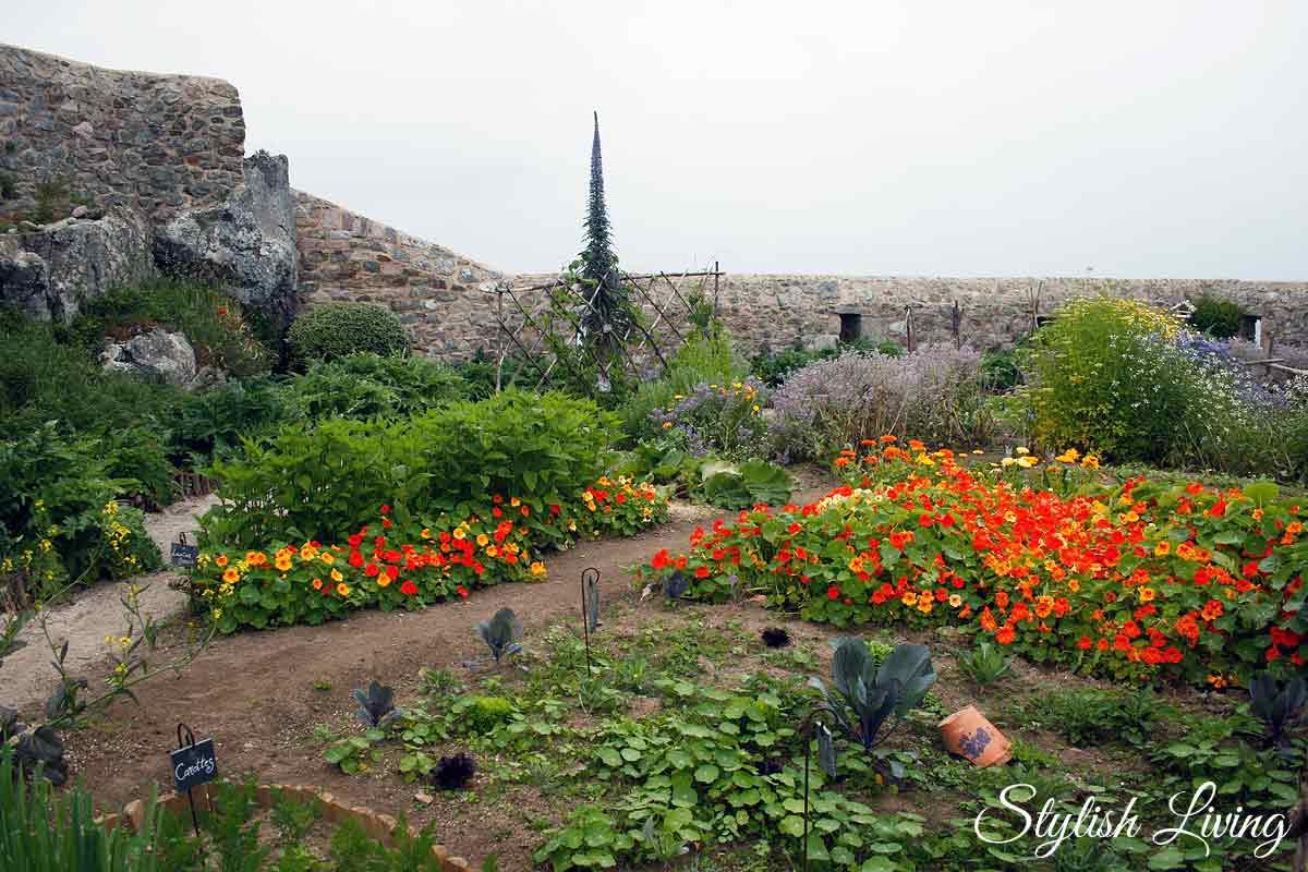 Garten Fort La Latte