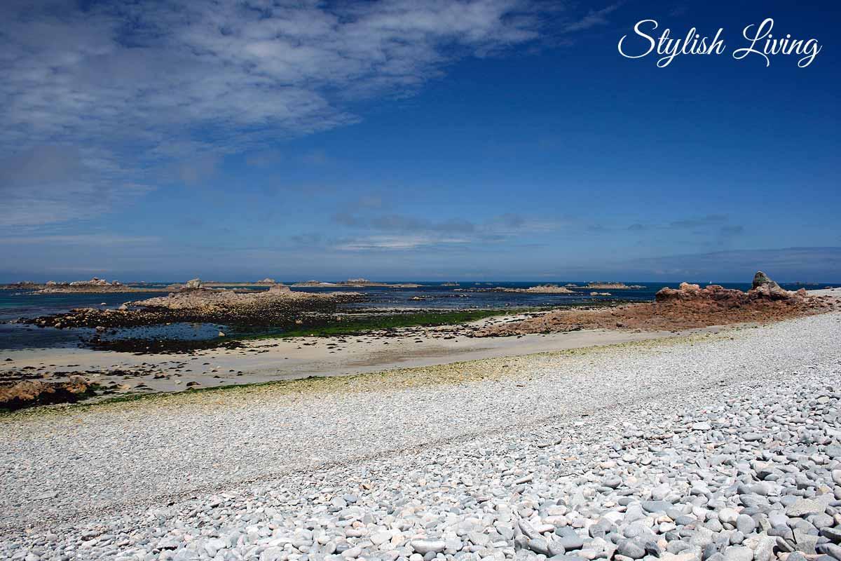Meer hinter der Île Balanec