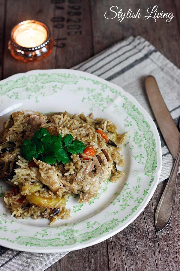 Makluba - orientalisches Reisgericht