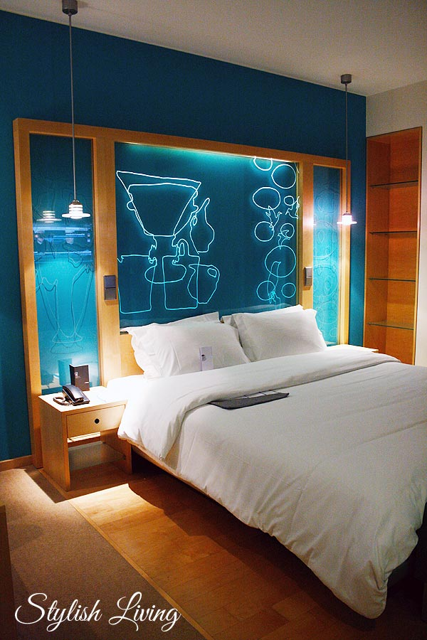Le Méridien Hamburg Schlafzimmer
