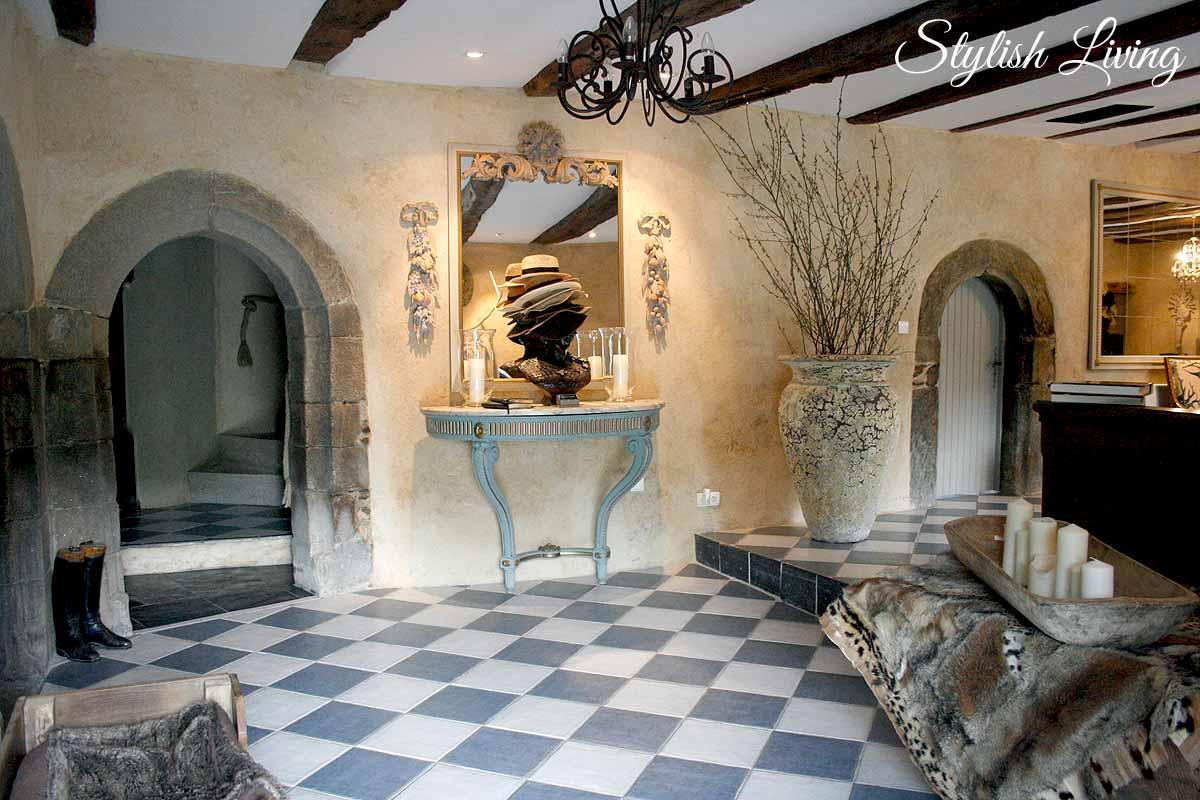 Eingangsbereich Manoir de Kerledan