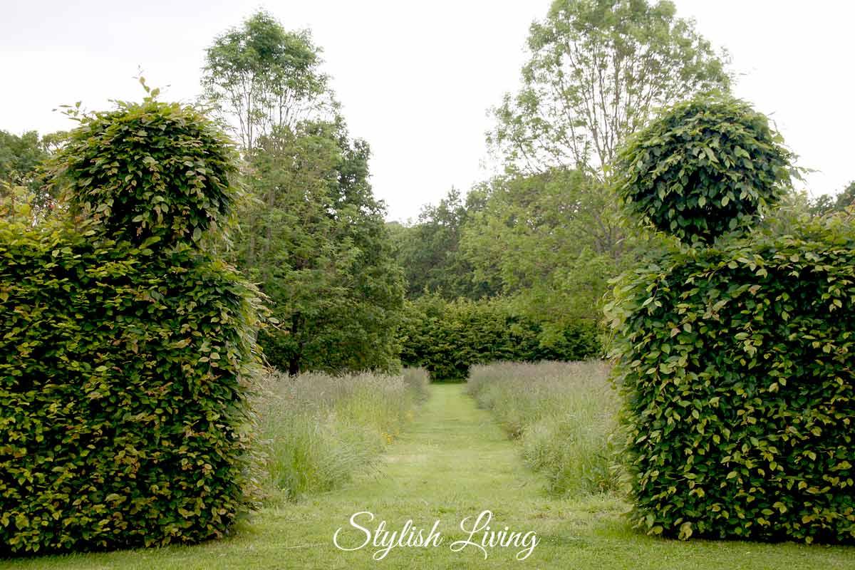 Garten Manoir de Kerledan