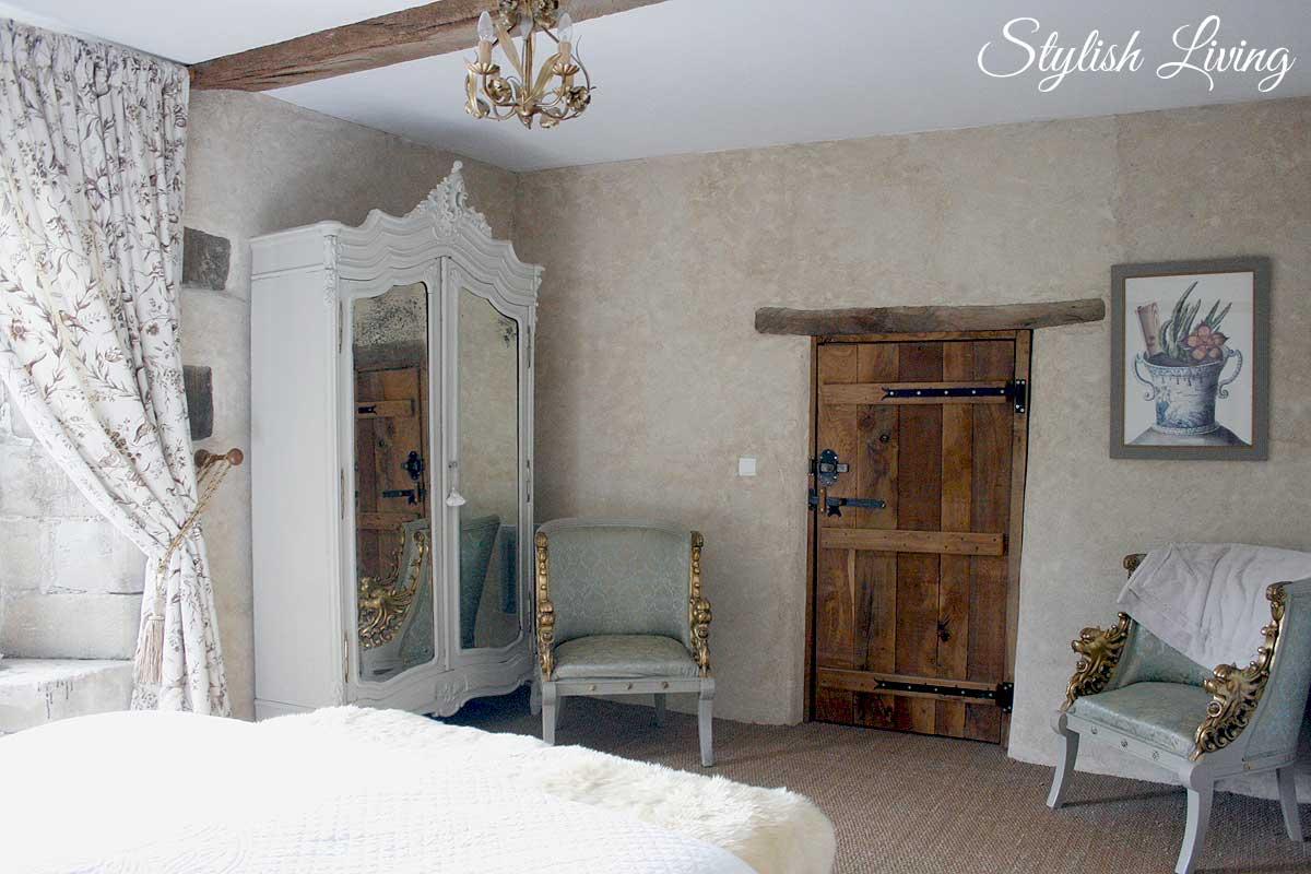 Schlafzimmer Manoir de Kerledan