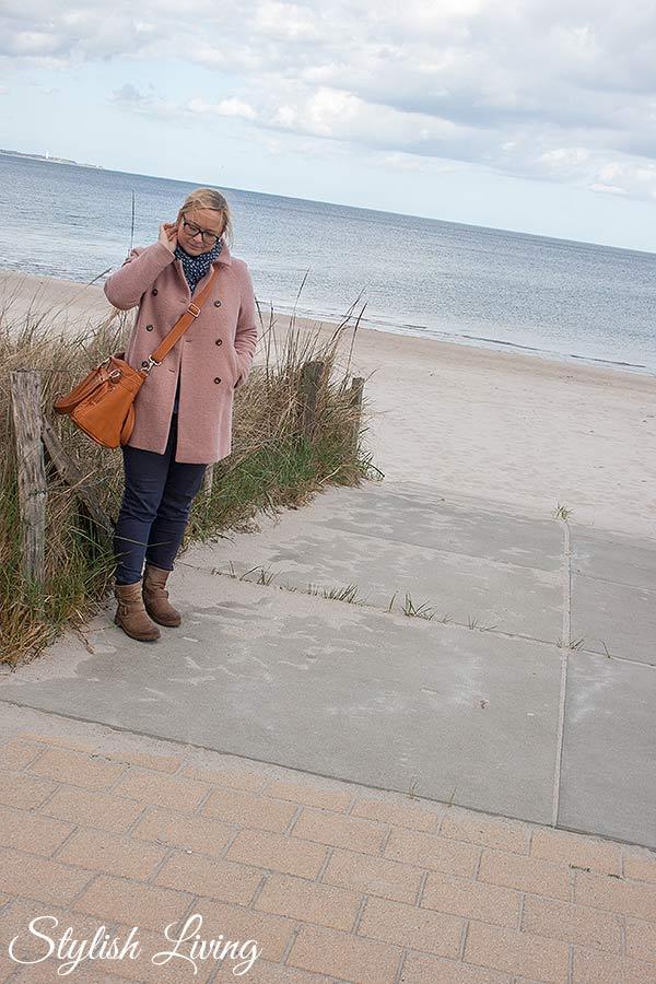 Ich am Strand von Scharbeutz