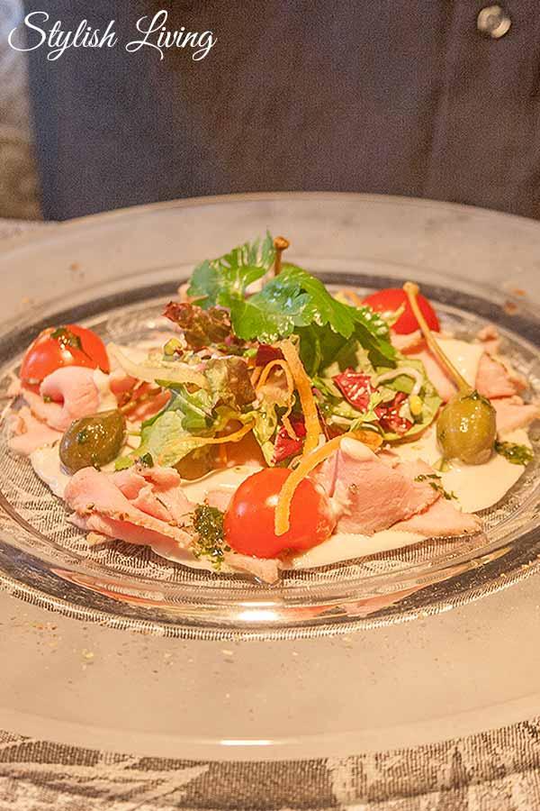 Vitello Tonnato Restaurant Herzbergs Scharbeutz