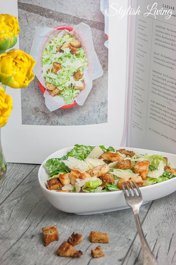 Caesar Salad aus dem Kochbuch Fabelhaft Französisch