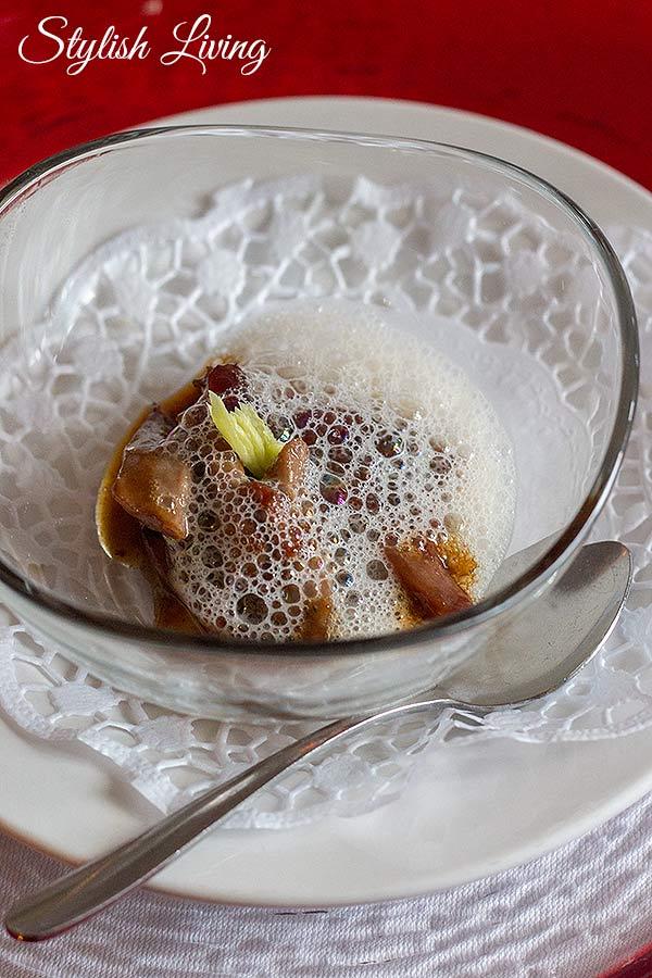 Entenragout mit Portweinschaum