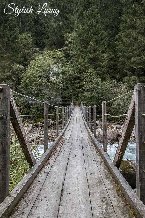 Brücke Reinbachfälle