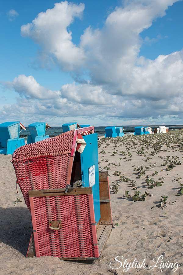 Strandkörbe Ahrenshoop